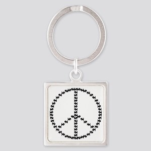 scottipeace01 Square Keychain