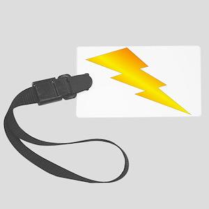 Lightning Bolt Large Luggage Tag
