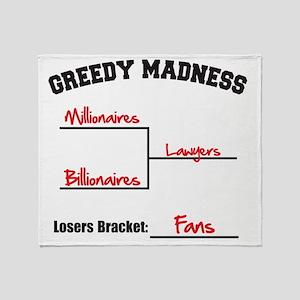 Millionaires-vs.-Billionaires-Bracke Throw Blanket