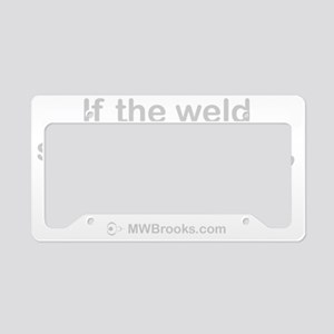 Weld_grey License Plate Holder