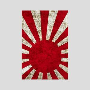 Japan 443 Rectangle Magnet