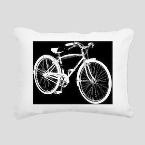 schwinn speedster negati Rectangular Canvas Pillow