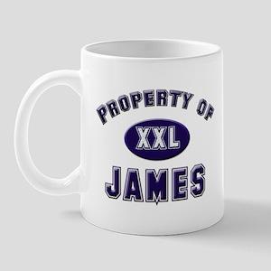 Property of james Mug