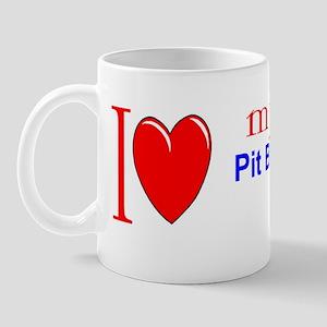 PitBullBUMPERSTICKERtemplate Mug