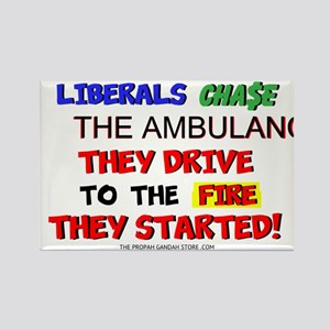 Liberals chase the ambulance Magnets