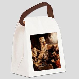 Belshazzars Feast Canvas Lunch Bag