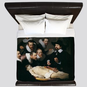 Anatomy Lecture of Dr Nicolaes Tulp King Duvet