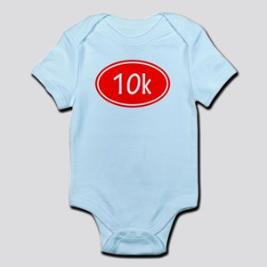 Red 10k Oval Body Suit