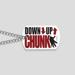 Down Up Chunk Ukulele 2x3 Dog Tags