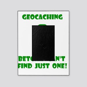 Geocaching Find Just One Green Picture Frame