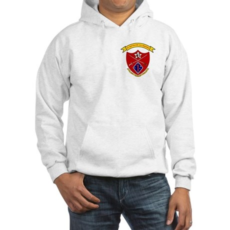 1st Bn 5th Marines<BR>Hooded Sweatshirt