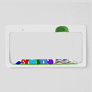 SUNSET KEY CHAINS LOGO RGB co License Plate Holder