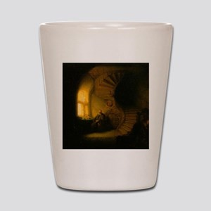 Philosopher in Meditation Shot Glass