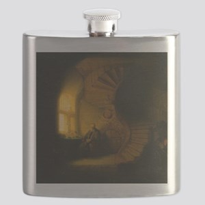 Philosopher in Meditation Flask