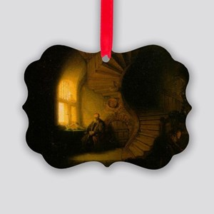 Philosopher in Meditation Picture Ornament
