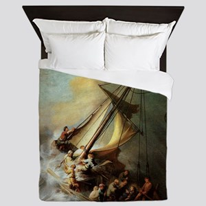 Storm on the Sea of Galilee Queen Duvet