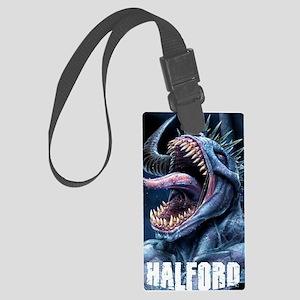 Halford Silent Screams iPhone Ca Large Luggage Tag