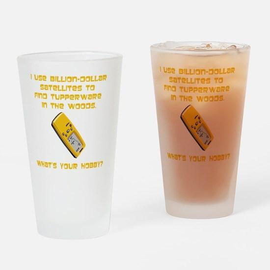 GeoCache Tupperware Yellow Drinking Glass