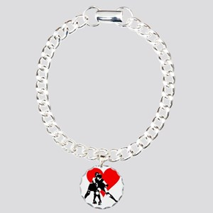 RCRD.evahitsheart Charm Bracelet, One Charm