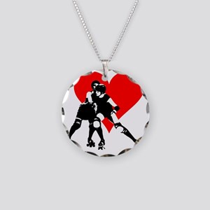 RCRD.evahitsheart Necklace Circle Charm