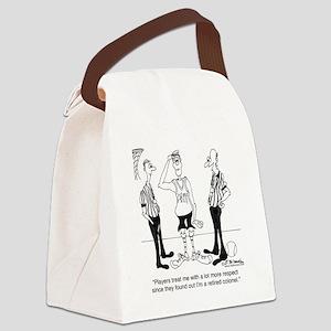 6731_referee_cartoon Canvas Lunch Bag