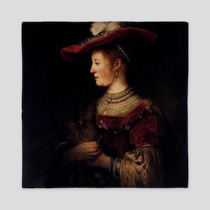 Saskia in a Pompous Dress Queen Duvet