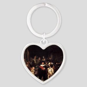 The Nightwatch Heart Keychain