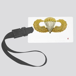 ARMY veteran trans Large Luggage Tag