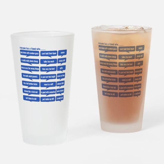 Facebook Drinking Glass