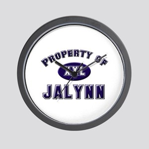 Property of jalynn Wall Clock