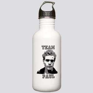 Team Paul Black Stainless Water Bottle 1.0L