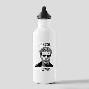 Team Paul Black Stainless Water Bottle 1.0L