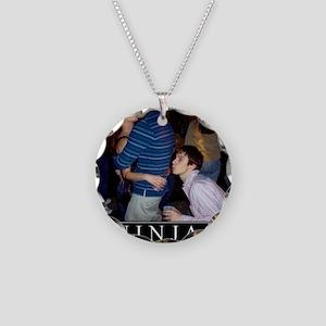 DeMotivational - Ninjas Necklace Circle Charm