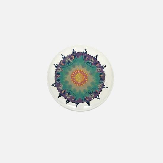 Pointy Lace sun Mini Button