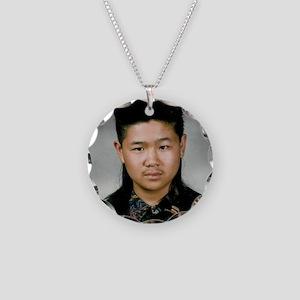 DeMotivational - Howard Hair Necklace Circle Charm