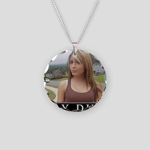 DeMotivational - Play Dumb Necklace Circle Charm