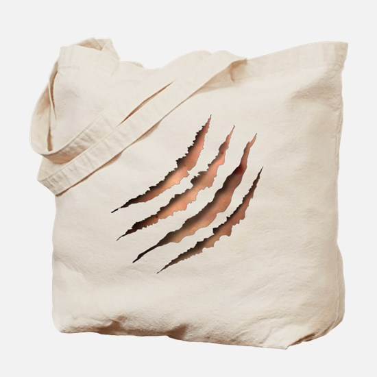 Clawmarks Tote Bag