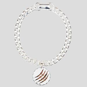 Clawmarks Charm Bracelet, One Charm
