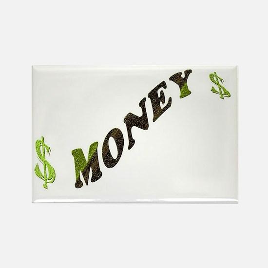 G-MONEY-SIGN Rectangle Magnet