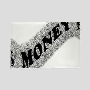 $-MONEY-SIGN2 Rectangle Magnet