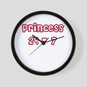 Princess 24/7 Wall Clock