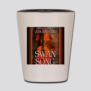 Swan Song mouse pad Shot Glass