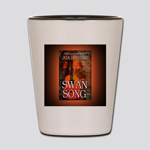 Swan Song rect mag Shot Glass