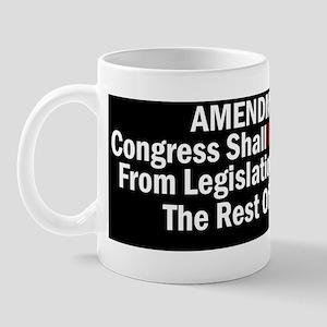 Amendment 28 - Congress Shall Not Be Ex Mug