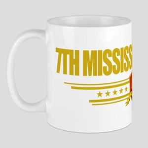 7th Mississippi Infantry (Flag 10) pock Mug