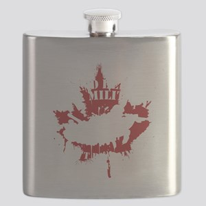 Canada Military Flask