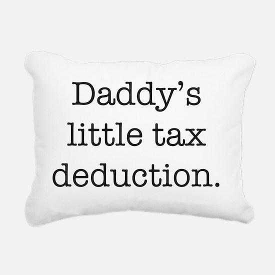 tax Rectangular Canvas Pillow