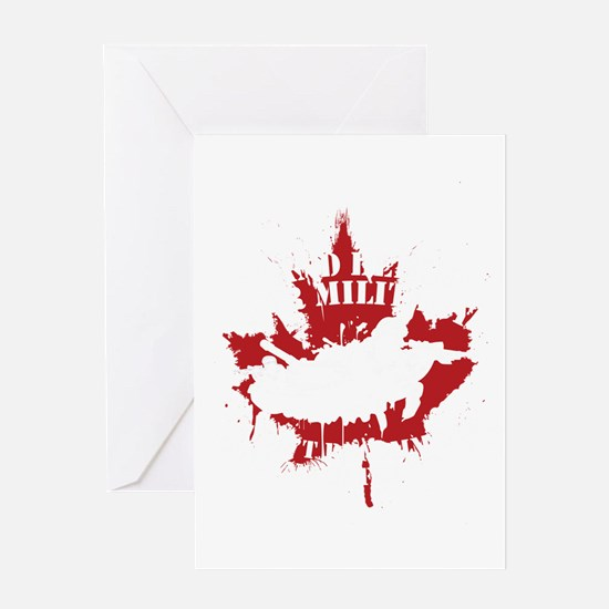 Canada Military Greeting Cards