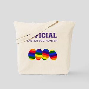 Official Easter Egg Hunter - Rainbow Tote Bag