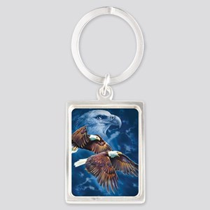 ip000662_1eagles3333 Portrait Keychain